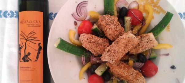 Griekse salade met een twist